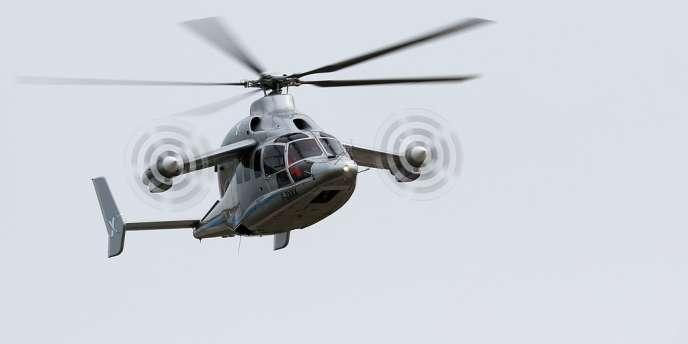 Un Eurocopter X3, mis au point par le groupe EADS.