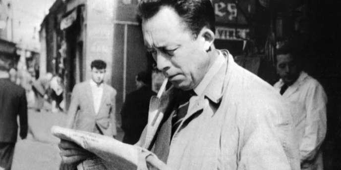L'écrivain Albert Camus en 1959.