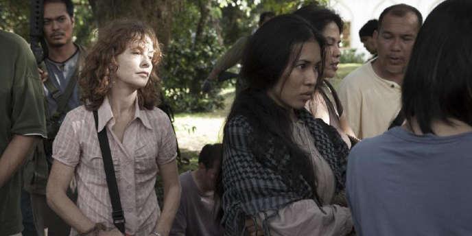 Isabelle Huppert dans le film philippin de Brillante Mendoza,