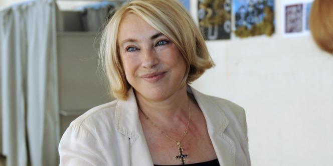 La maire (UMP) d'Aix-en-Provence, Maryse Joissains-Masini, en juillet 2009.