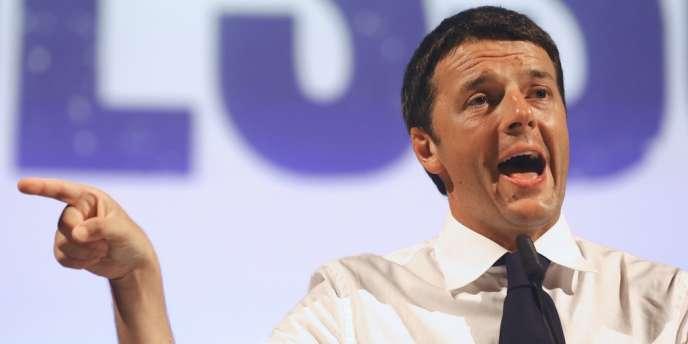Matteo Renzi, le jeune maire de Florence, le 13 septembre.