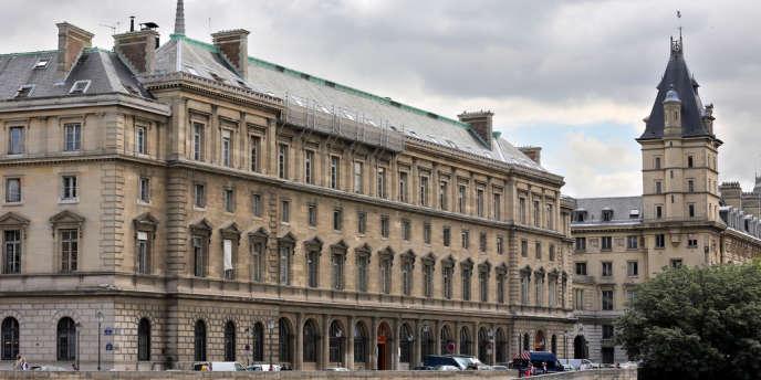 Les locaux de la police judiciaire de Paris.
