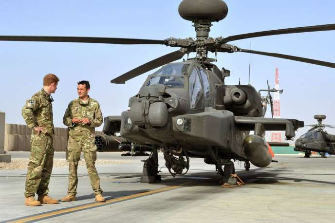 Le prince Harry en Afghanistan, le 7 septembre 2012.