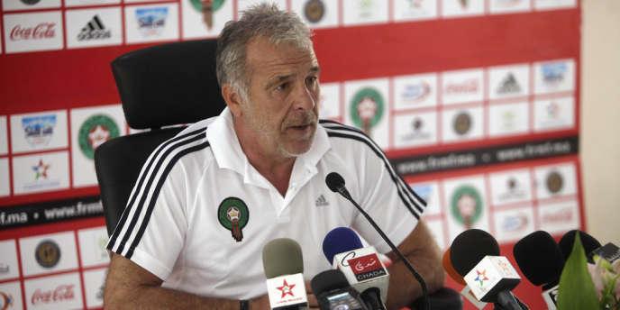 La défaite face au Mozambique aura coûté cher à Eric Gerets, ici le 13 août.