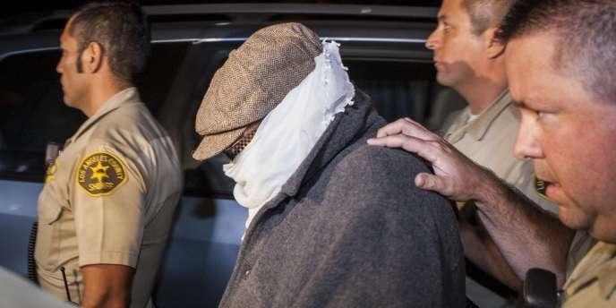 Nakoula Basseley Nakoula escorté par la police le samedi 15 septembre