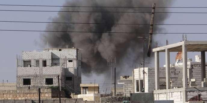 Dans la ville de Saraqib dans le nord du pays le 15 septembre.