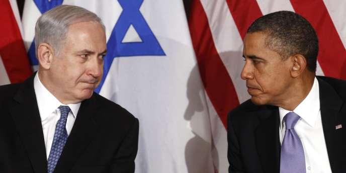 Benjamin Netanyahu et Barack Obama, en septembre 2011 à New York.