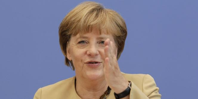 Angela Merkel a fait valoir qu'il n'y avait pas urgence à mettre en place l'union bancaire à la date du 1er janvier, souhaitée par la Commission européenne.