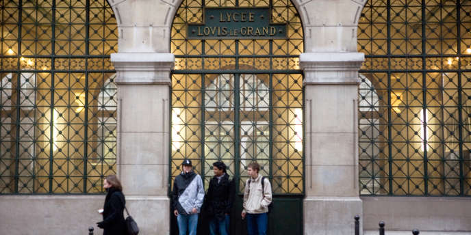 Le lycée Louis Le Grand à Paris.