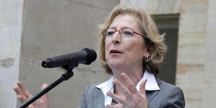 Geneviève Fioraso, la ministre de l'enseignement supérieur et de la recherche, le 17 mai 2012 à Paris.