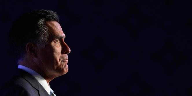 Mitt Romney à Los Angeles, le 17 septembre 2012.