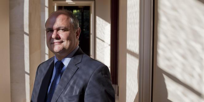 Bruno Le Roux, le président du groupe PS à l'Assemblée nationale, en septembre 2012.