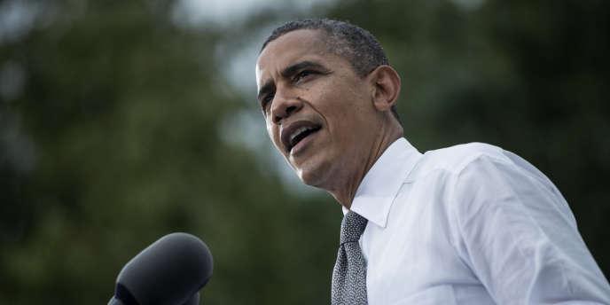 Le président Barack Obama a expliqué, lundi 17 septembre, lors d'un meeting électoral dans l'Ohio, qu'il lançait