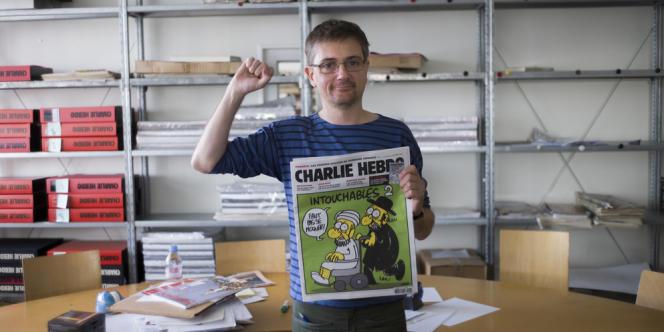 Charb, directeur de la rédaction de