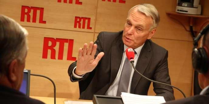 Jean-Marc Ayrault, sur RTL le 19 septembre.