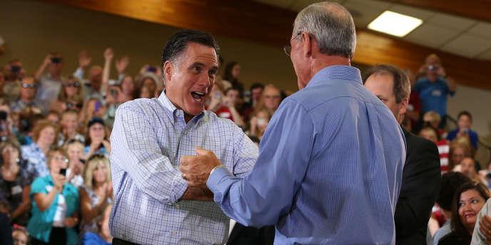 Mitt Romney, ravi d'être dans le Colorado.