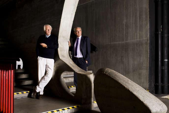 Philippe Evin et Bernard Debré (septembre 2012).