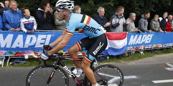 Philippe Gilbert est devenu champion du monde de cyclisme dimanche à Valkenburg.