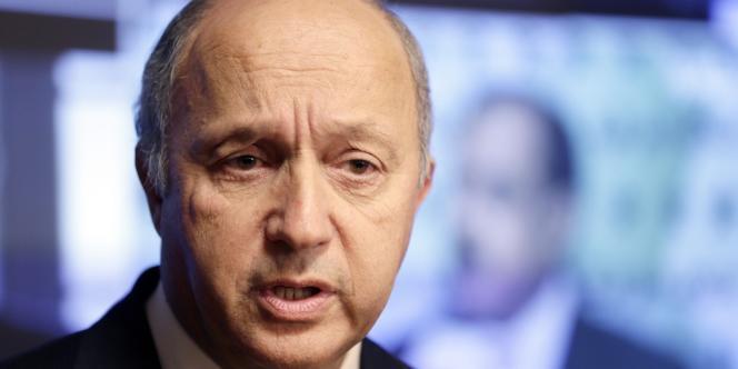 Laurent Fabius, ici au ministère des affaires étrangères le 21 septembre.