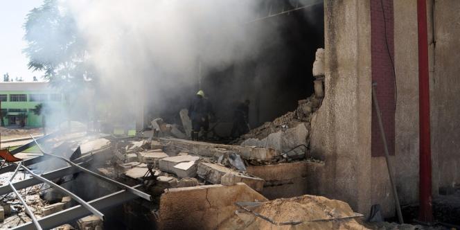 L'explosion à Damas aurait tué des hauts officiers syriens.