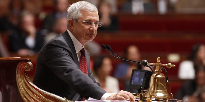 Claude Bartolone, le président de l'Assemblée nationale, le 11 septembre.