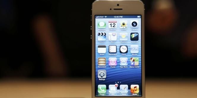 L'iPhone, produit phare de la marque Apple.
