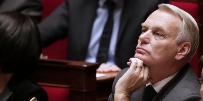 Jean-Marc Ayrault, le 25 septembre à l'Assemblée nationale.
