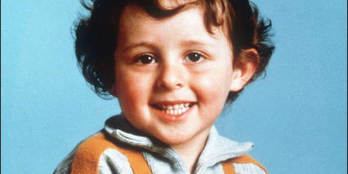 Photo d'archives non datée du petit Grégory Villemin, 4 ans, retrouvé noyé le 16 octobre 1984, pieds et poings liés dans la Vologne.