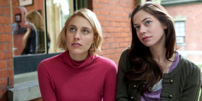 Greta Gerwig et Analeigh Tipton dans le film américain de Whit Stillman,