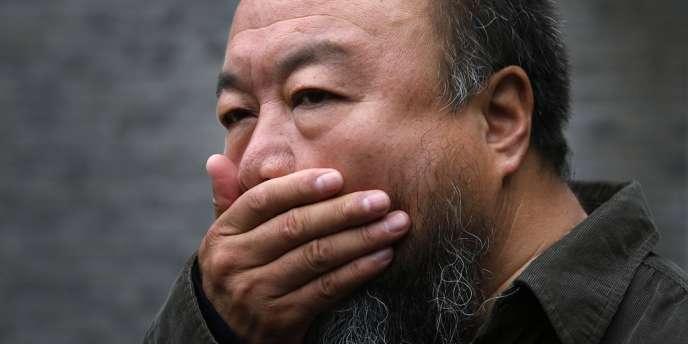 Ai Weiwei à Pékin, le 27 septembre.
