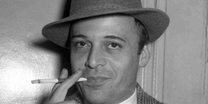L'acteur Herbert Lom, le 28 octobre 1955.