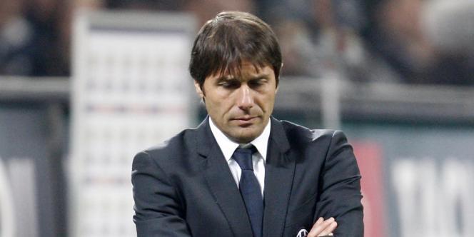 Antonio Conte, nouvel entraîneur de l'équipe d'Italie.