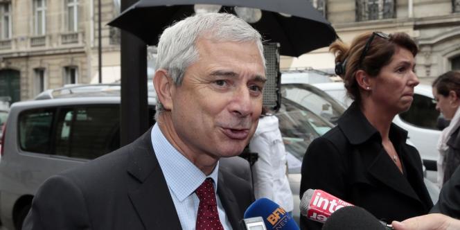 Claude Bartolone, mercredi 25 septembre, à Paris.