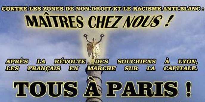 Une manifestation de ce mouvement prévue à Lyon le 23 juin avait également été interdite.