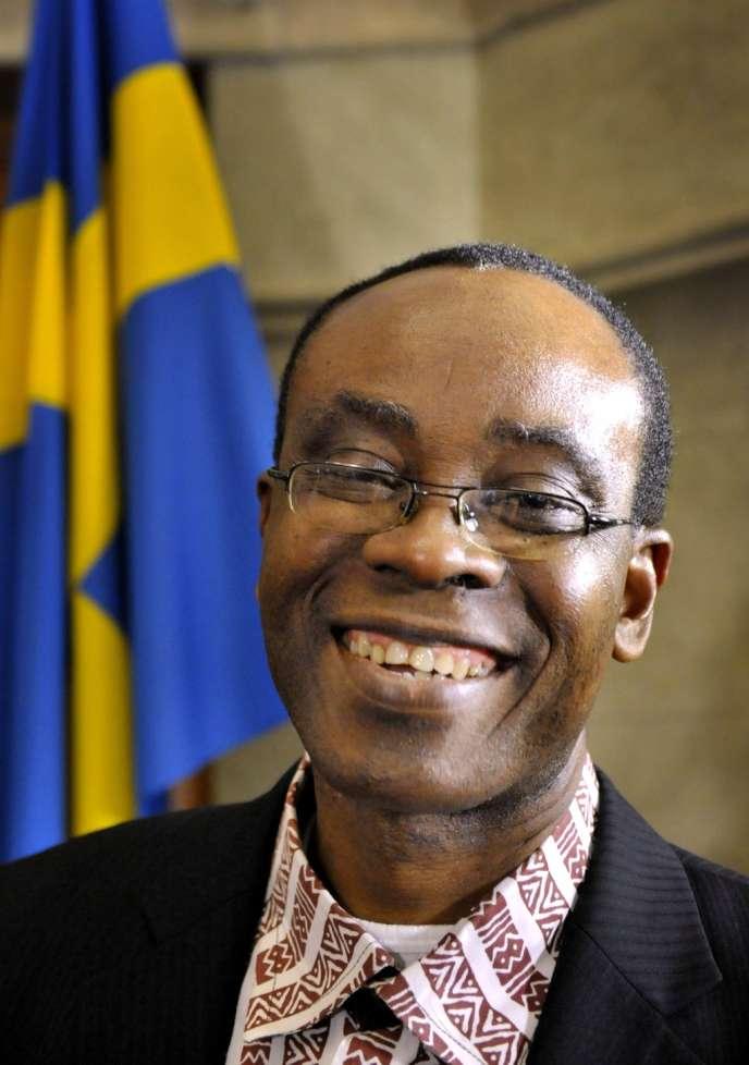 Le Nigérian Nnimmo Bassey, lauréat du prix des droits de l'homme de la fondation Rafto.