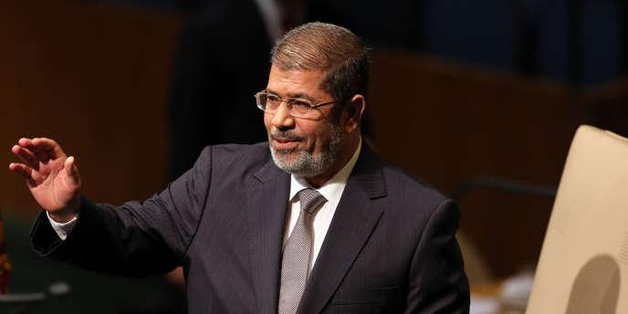 Le président égyptien Mohammed Morsi lors de l'Assemblée générale des Nations unies, le 26 septembre.