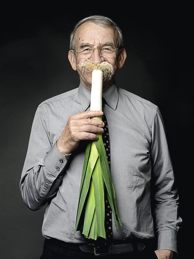 Jean-Claude Opec, poireau monstrueux d'Elbeuf.