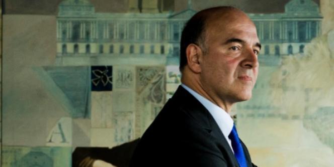 Le ministre de l'économie, Pierre Moscovici, le jeudi 27 septembre à Paris.