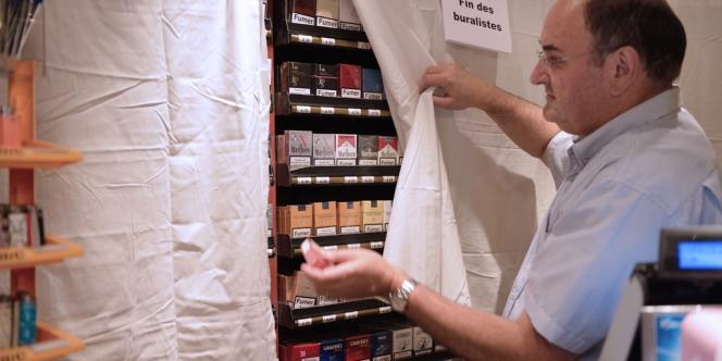 Le 6 septembre, les buralistes français avaient organisé une journée d'action pour protester contre le paquet de cigarettes