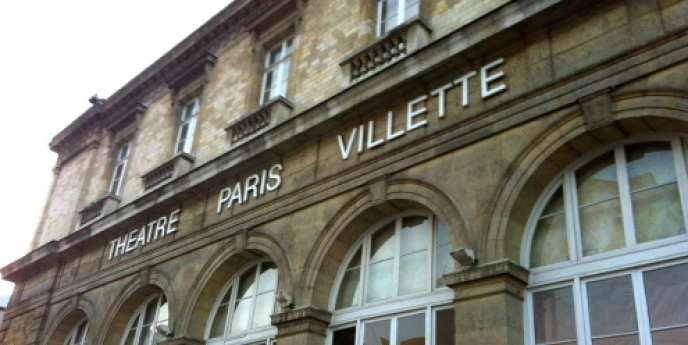 La façade du théâtre Paris-Villette dans le 19e arrondissement.