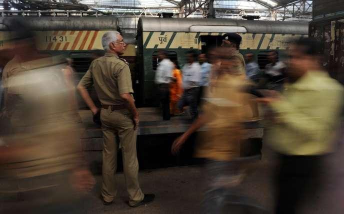 Dans la gare centrale de Calcutta, en 2012.