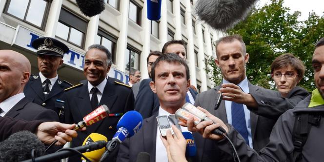 Manuel Valls, le 2 octobre à Grenoble.