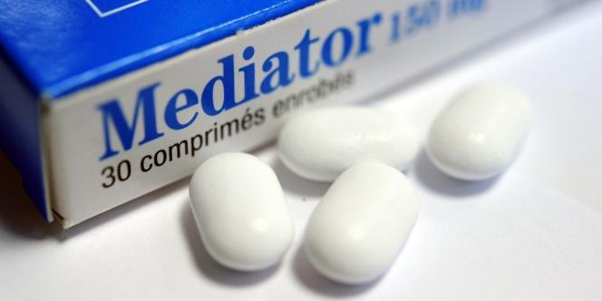 Comprimés du médicament Mediator.