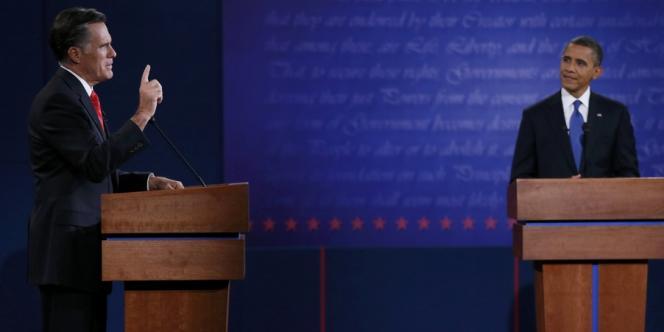 Dans un débat dominé par l'économie et la santé, le républicain est apparu plus mordant, plus sûr de lui, alors que le président sortant était beaucoup moins à l'aise qu'à son à habitude.