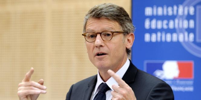 Le ministre de l'éducation, Vincent Peillon, à Paris, en juin.