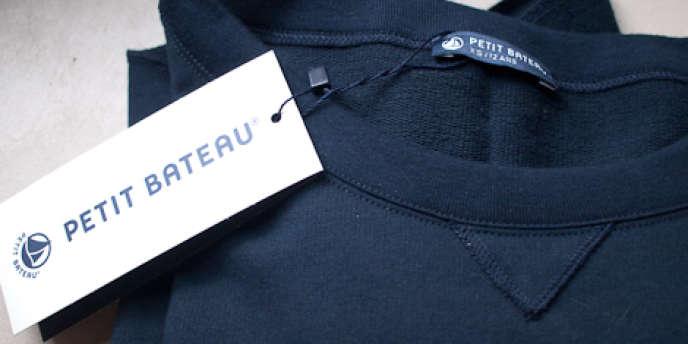 La marque de vêtements Petit Bateau veut réaliser 60 % de ses ventes hors de France d'ici à 2015.