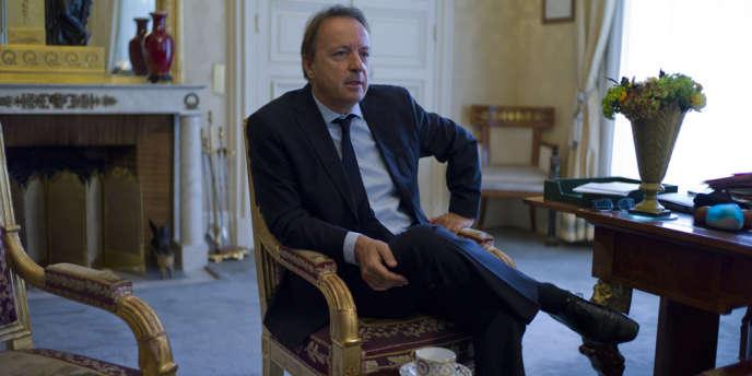 Jean-Pierre Bel, président du Sénat.