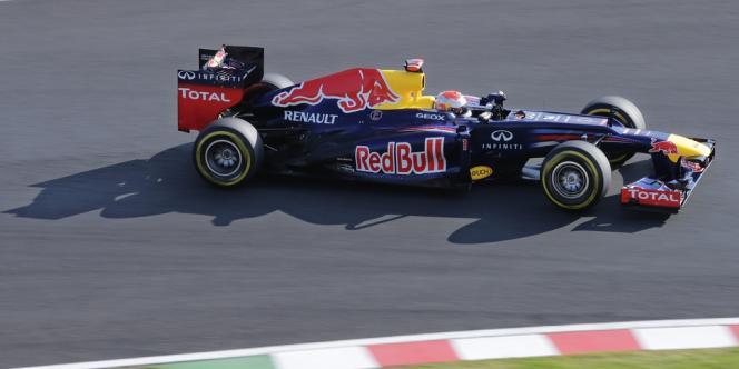 Sebastian Vettel, lors du Grand Prix du Japon le 7 octobre.