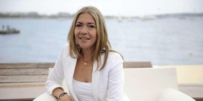 Marie-Christine Saragosse, en mai 2010 à Cannes.