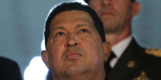 Hugo Chavez, le 6 octobre à Caracas.